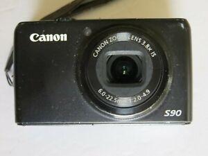 CANON POWERSHOT S-90 DIGITAL CAMERA