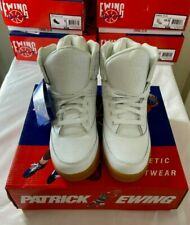 Patrick Ewing White Gum 33 Hi Athletic Footwear For Men Various Sizes Brand New