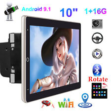 """10"""" Car Radio 2 Din 2.5D Android 9.1 Rotate GPS Stereo Navi MP5 Player WiFi"""