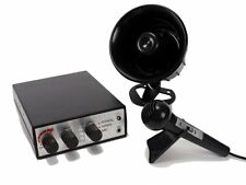 12V Loud Car Siren Horn PA System Animal Noises & Police Siren with Microphone