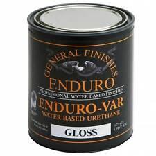 Quart, Gloss, General Finishes Enduro-Var Water-Based Urethane