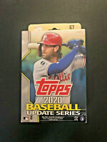 2020 Topps Baseball Update Series FACTORY SEALED Hanger Box 67 Cards