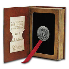 2 oz Silver Coin - Biblical Series (Ten Commandments) - SKU #91697