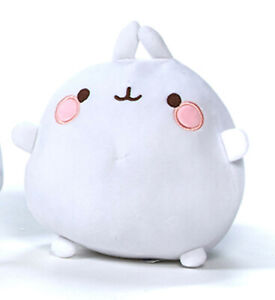 Molang Friends White Rabbit Super Soft Plush Bean Toy Kids Piu Piu Baigo Kawaii