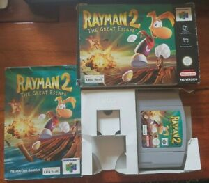 Rayman 2: The Great Escape N64 Boxed - UK PAL