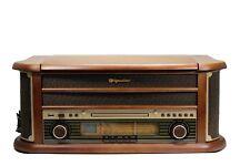 Roadstar HIF-1899 Retro Stereo-Anlage mit Plattenspieler, Kassette, CD und Radio