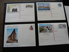 ALLEMAGNE (rfa) - 4 cartes entier (cy76) germany