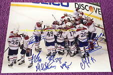 2014 MONTREAL CANADIENS Beat Boston PLAYOFFS 11x14 Photo AUTO Signed by 8~GALLY