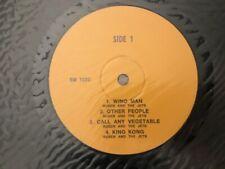 "FRANK ZAPPA and various ""VPRO PICNIC LP"" 1971 Vinyl LP Bootleg Unplayed vinyl !"