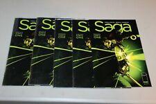 5 Saga #41 ERROR Edition RECALLED Variant NM Brian K Vaughan Fiona Staples CGC'm