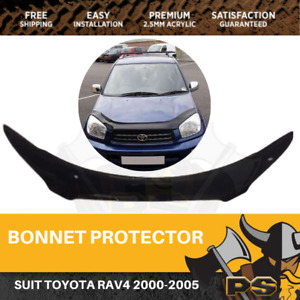 Bonnet Protector to suit Toyota RAV4 2000-2005 Tinted Guard
