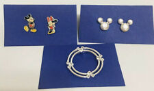 Lot of Disney Parks Jewelry Necklace Charm Earrings Mickey Minnie Mouse Ears