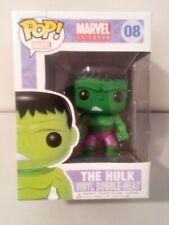 Funko Pop Marvel Hulk 08 (Face on Bottom)