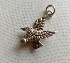 Sterling silver bird eagle charm marked stg sil 3.1 grams