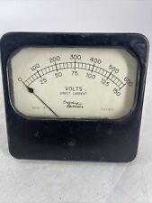 Vintage Weston Model 741 Panel Gauge Meter Milliamperes