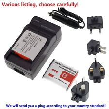Battery or charger for Sony NP-BG1 FG1 Type CyberShot DSC HX30 H9 W200 T100 WX1