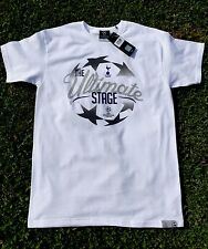 Official Champions League Tottenham Hotspur The Ultimate Stage T Shirt Medium