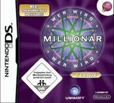 NINTENDO DS WER WIRD MILLIONÄR 2 EDITION DEUTSCH Neuwertig
