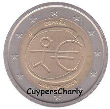 Spanje 2009 2€ UNC ** 10jaar EMU **