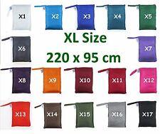 TREKSILK Extra Large Single Silk Liner Bag Sleeping Hostel Sheet Travel Sack
