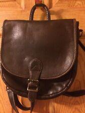 Hobo International Distressed Brown Leather Versatile Cross Body/Backpack Purse