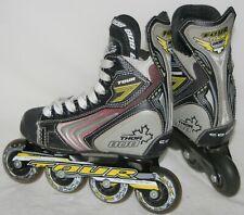 Tour Thor 808 Code Youth Junior Roller Force Hockey Skates Size 12 J 12J - Euc
