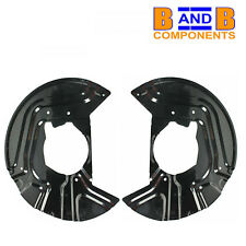 BMW X3 E83 FRONT DISC BRAKE BACK PLATE PAIR A1330