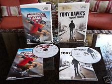 Tony Hawk's Proving Ground Nintendo Wii Game / Tony Hawk's Downhill Jam Wii Game