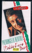 PIERANGELO BERTOLI ITALIA D'ORO TOUR VHS  NUOVA!!!