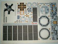 Intrrcosmos 18 / Magion Czechoslovak rare Paper Model