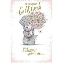 ME TO YOU FOR MY FABULOUS GIRLFRIEND BIRTHDAY CARD TATTY TEDDY BEAR NEW GIFT