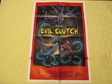 1988 Evil Clutch Troma Tricia Zimic original!  27x41 1 sheet movie poster VF