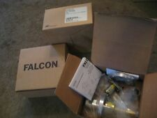 Falcon Satin Chrome Medium Duty Passage Lever Set Lot of 3 Part# W101S QUA 626