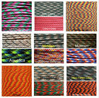 550 Paracord Parachute Cord Lanyard Mil Spec Type III 7 Strand Core100FT GG