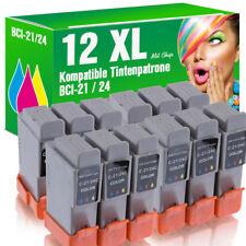 12 Patronen für Canon IP 2000