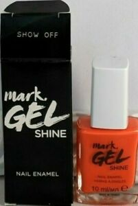 Avon Mark Gel Shine Nail Enamel B/N ~ Show Off
