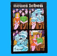 DDR Neues Leben 10/1971 Heidemarie Wenzel Chris Doerk Frank Schöbel Erfurt