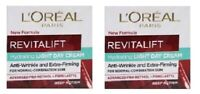 2 x L'oreal Revitalift Hydrating Light Day Cream Anti-Wrinkle + Firming (2x50ml)