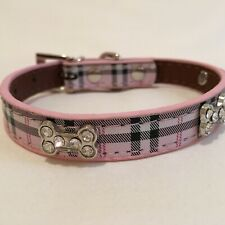 Dog collar, adjustable fancy small dog collar