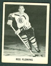 Reg Fleming 1965-66 Coke Coca Cola '65 NHL Hockey Card EX Boston Bruins SCARCE