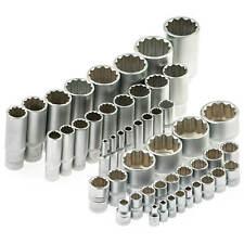 Vielzahn Nüsse Steckschlüssel Einsatz 12-kant Nuss 4 bis 36 mm 1/4 3/8 1/2 Zoll
