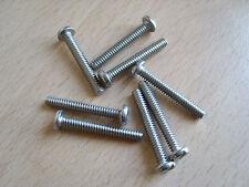 "6-32 x 1"" UNC Pan Testa Fessurata vite in acciaio inox quantità 8"