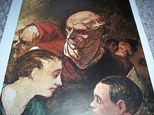 ROSIN SUR LES BARRICADES Honore Daumier Color Print