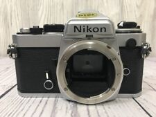 Nikon FE 3885154 SLR 35mm Camera - Body ONLY - For REPAIR - EXCELLENT COSMETIC