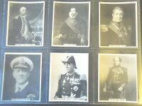 1929 Carreras  FAMOUS NAVAL MEN set 24 navy Tobacco Cigarette cards military