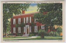 "USA postcard - Federal Hill, ""My Old Kentucky Home"", Bardstown, Kentucky"