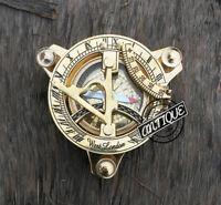 Christmas Marina Militare Pocket Watch Sundial Graph Clock Compass Miniature