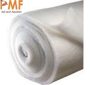AQUARIUM POND FILTER WOOL FLOSS 18-22 MM 69cm WIDE 1Mtr TO 20Mtr External Koi