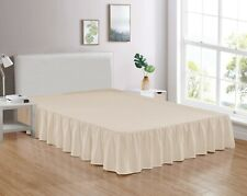 Legacy Decor Bed Skirt Dust Ruffle 100% Brushed Microfiber with 14� Drop