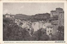 * RIANO - Borgata Fontana con veduta parziale del Castello Boncompagni